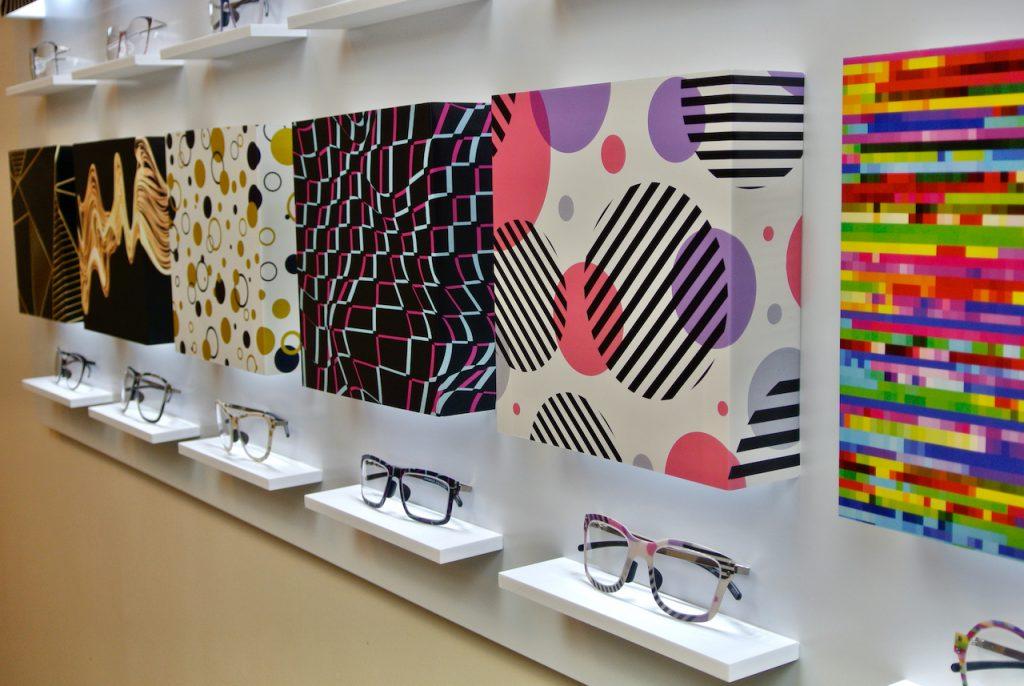 Thinwood mintás szemüveg