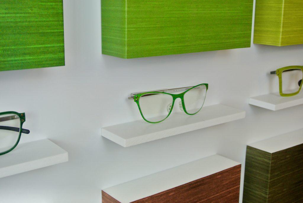 Thinwood zöld szemüveg