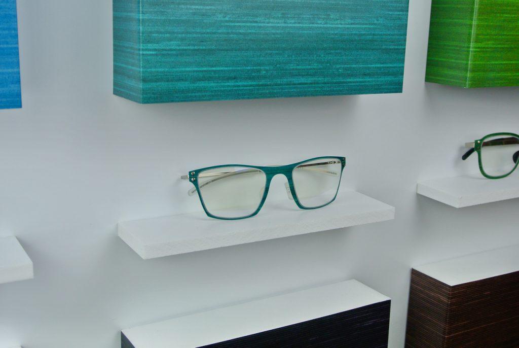 Thinwood türkiz szemüveg