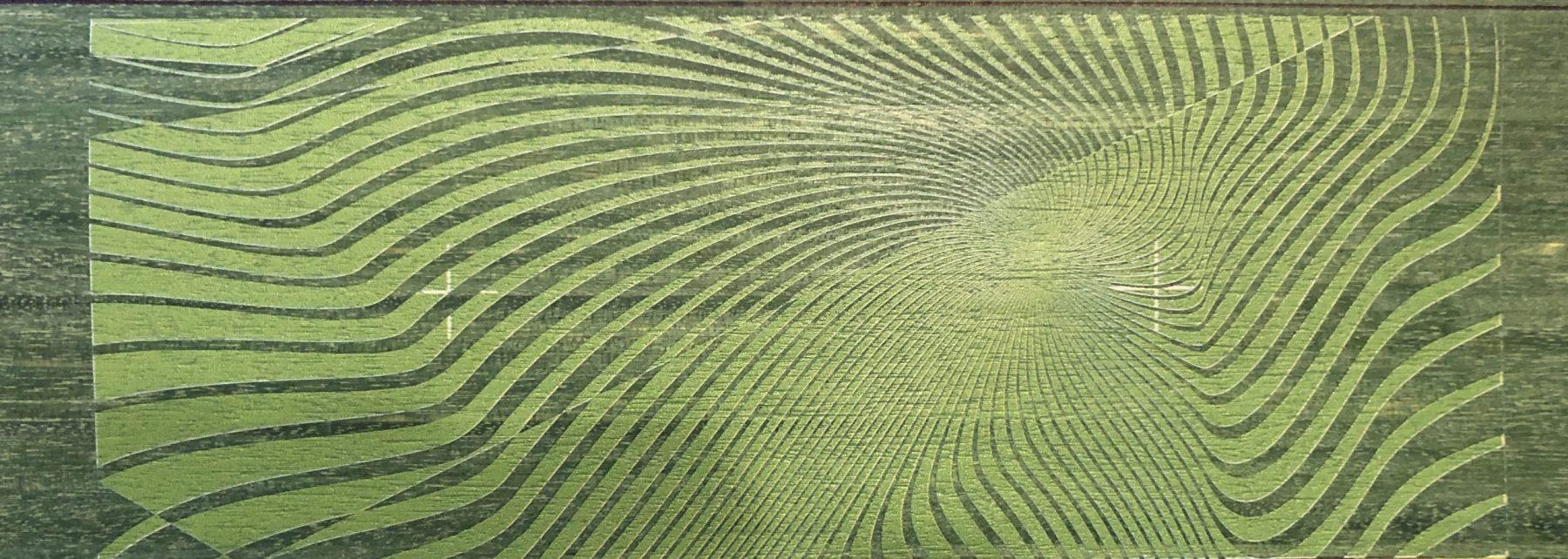 Thinwood zöld minta