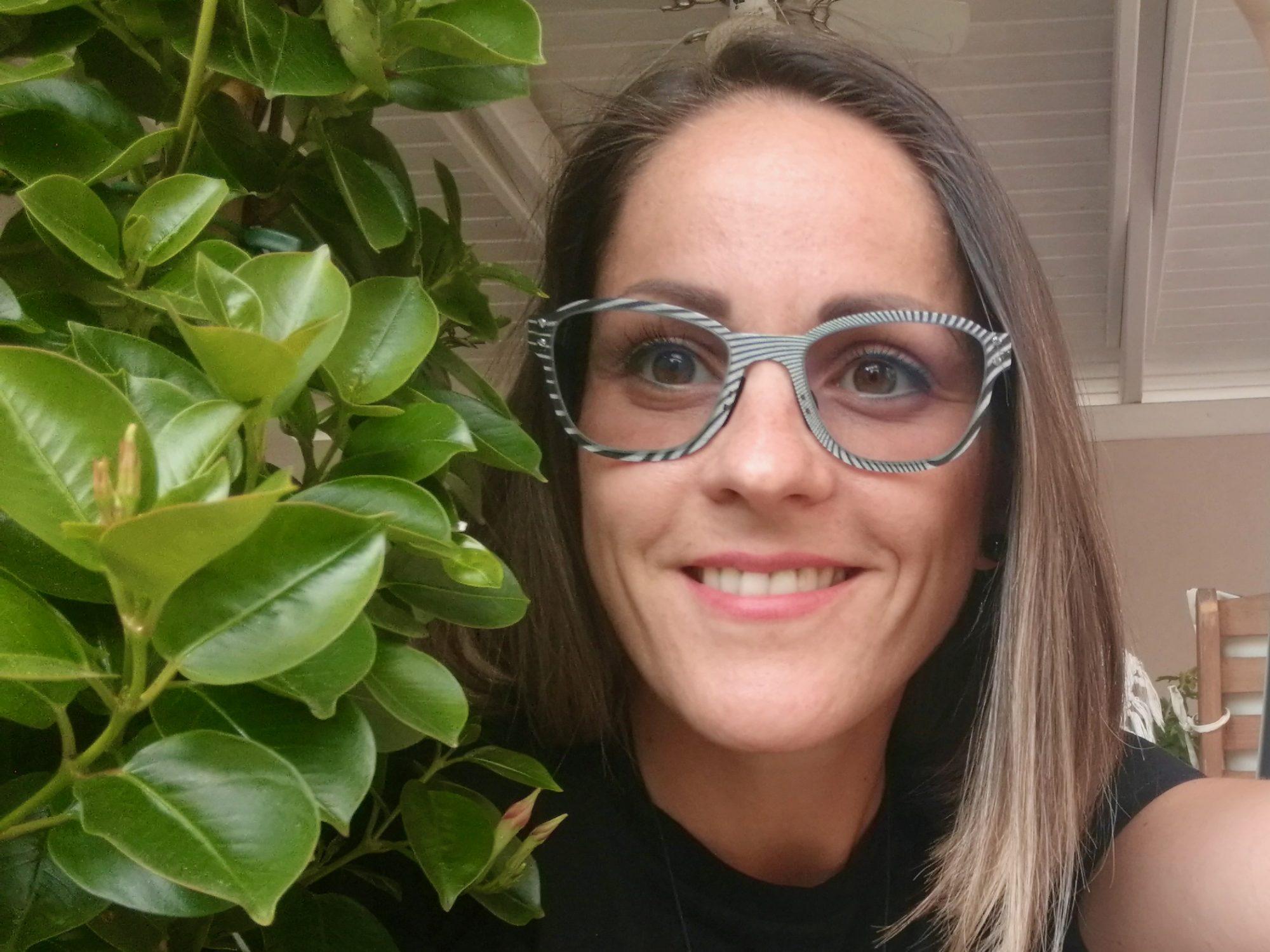 Thinwood optikai illúzió szemüveg